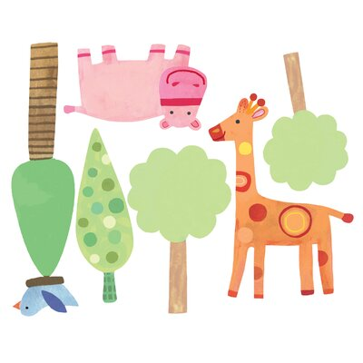 Wallies Zoo Baby Wall Sticker