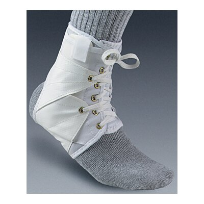 Core Products Ankle Support with Vinyl Wings in White