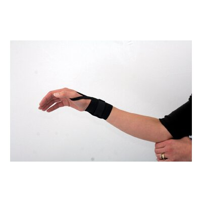 Core Products Elastic Wrist Wrap with Thumb Loop in Black