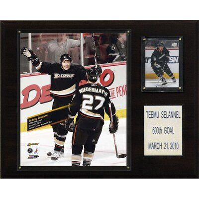C & I Collectibles NHL Anaheim Ducks 600th Goal Plaque