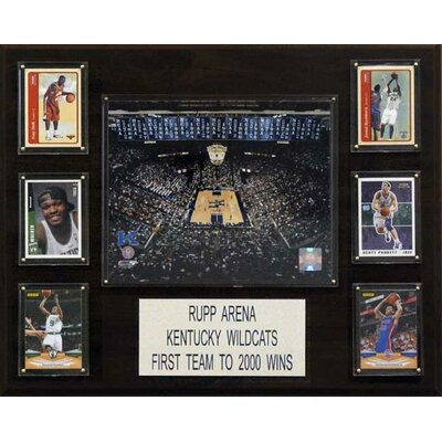 NCAA Basketball Rupp Arena Stadium Plaque