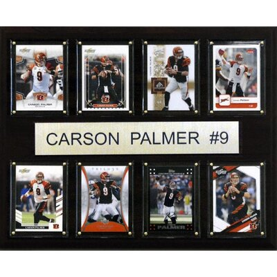 C & I Collectibles NFL 8 Card Plaque
