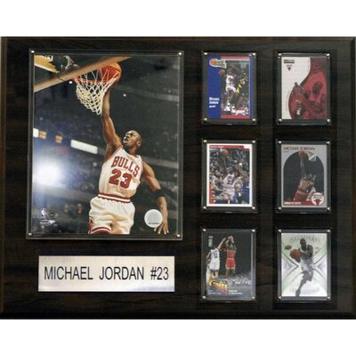 NBA Chicago Bulls Player Plaque