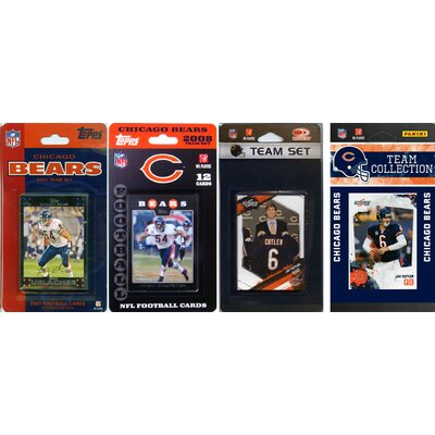 C & I Collectibles NFL 2006, 2007, 2009, 2010 and 2011 Licensed Trading Card Team Set