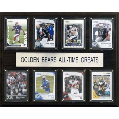 C & I Collectibles NCAA Football All-Time Greats Plaque