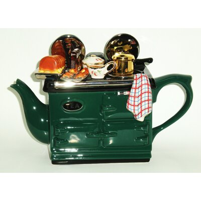 Tea Pottery Aga Sunday Lunch Teapot in Green