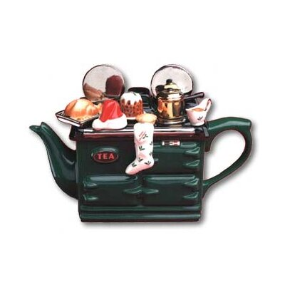 Tea Pottery Xmas Aga Tea Pot