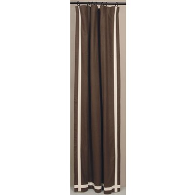 Niche Hathaway Solid Linen Rod Pocket Curtain Single Panel