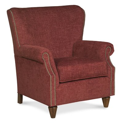 curved back traditional wingback chair wayfair