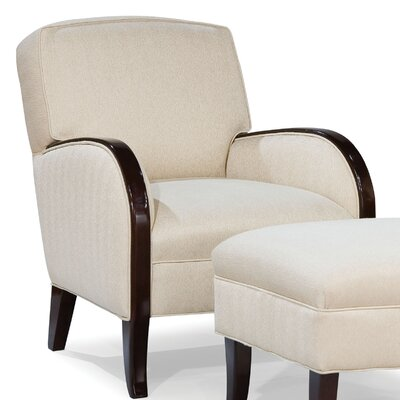 Fairfield Chair Abe Transitional Chair and Ottoman
