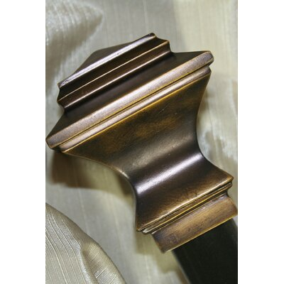 Radiance Quadrant Curtain Rod and Hardware Set