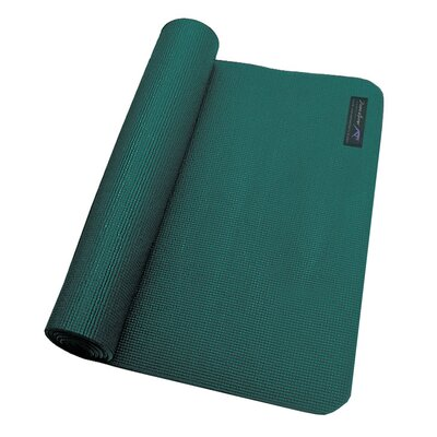Zenzation Athletics Premium Yoga Mat in Newburg Green