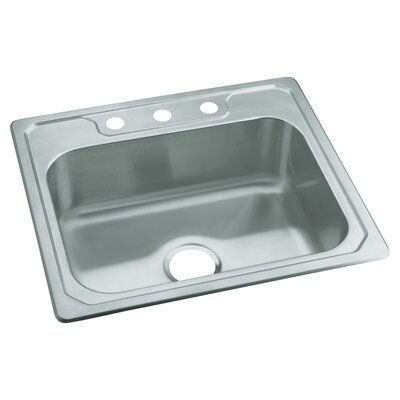 Sterling by Kohler Middleton Self Rimming Single Bowl Kitchen Sink