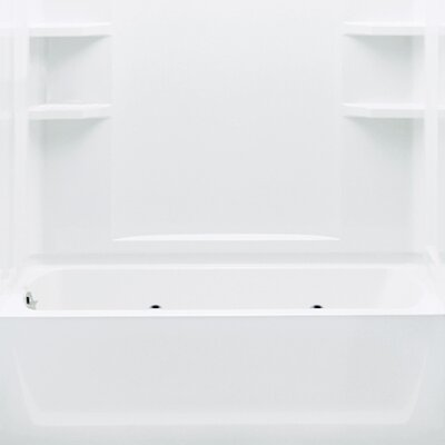 "Sterling by Kohler Ensemble 72"" Whirlpool Tub and Walls"