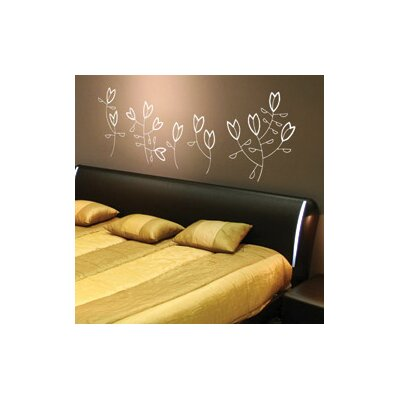 ADZif Spot Korall Flowers Wall Decal