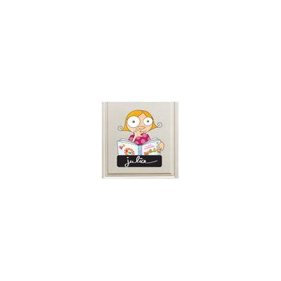 ADZif Ludo Door Sign - Girl Wall Decal