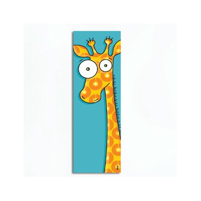 Canvas Giraffe Wall Decal