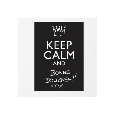 Memo Keep Calm and...(Chalkboard) Wall Sticker