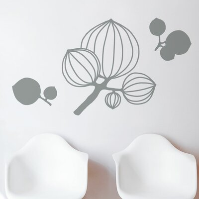 Spot Murmansk Flowers Wall Decal