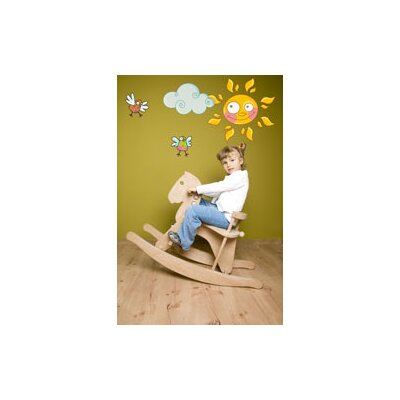 ADZif Ludo Sun Wall Decal
