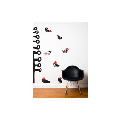ADZif Spot Lil' Birds Wall Decal