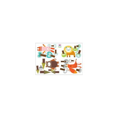 ADZif Piccolo Forest Friends Wall Sticker
