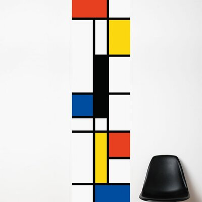 ADZif Unik Pop Mondrian Wall Decal