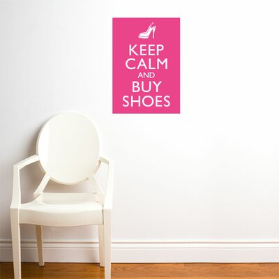 ADZif Blabla Buy Shoes Wall Stickers