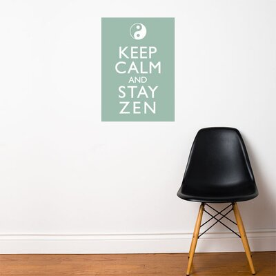 ADZif Blabla Stay Zen Wall Stickers