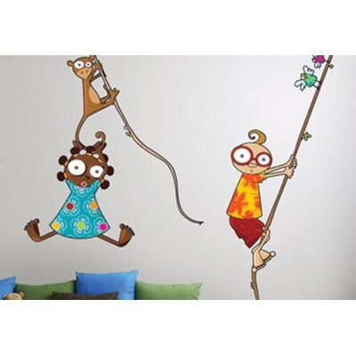 ADZif Ludo Nina and Kiki Wall Decal