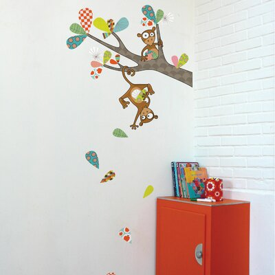 ADZif Ludo Monkey Business Wall Decal