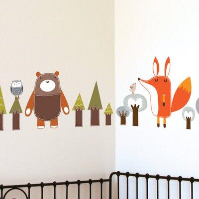 ADZif Piccolo Forest Friends Wall Sticker