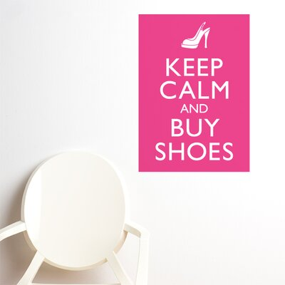 ADZif Blabla Buy Shoes Wall Stickers