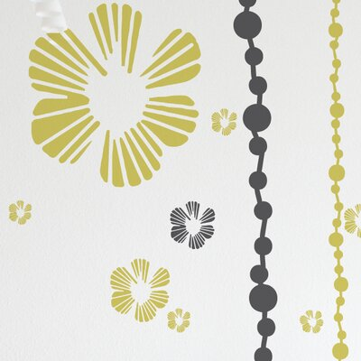 ADZif XXL Tumbling Blooms Wall Sticker