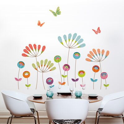 ADZif XXL Colorful Pompoms Wall Sticker