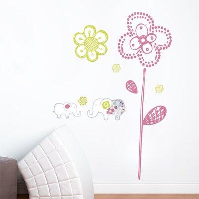ADZif Piccolo Sweet Elephants Wall Decal