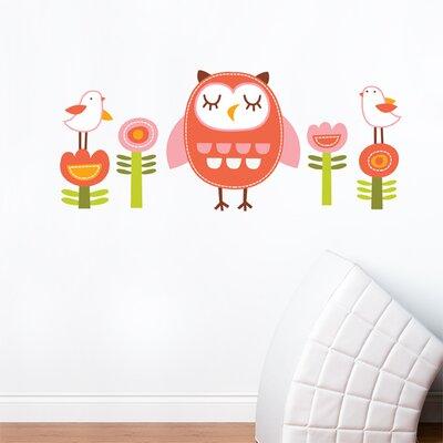 ADZif Piccolo Elena the Owl Wall Decal