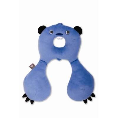 BenBat Travel Friends Head/Neck Support: 4-8 yrs old - BEAVER