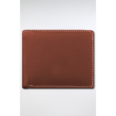 Stewart/Stand RFID Blocking Leather Exterior Bill Fold Wallet