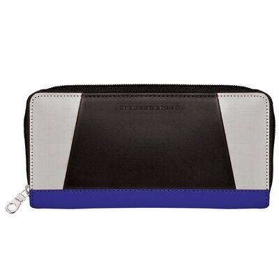 Stewart/Stand Color Block Zipper Wallet
