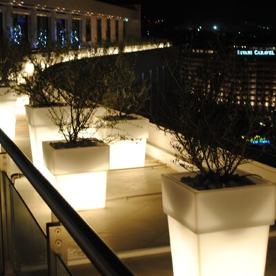Serralunga Torre Planter with Light