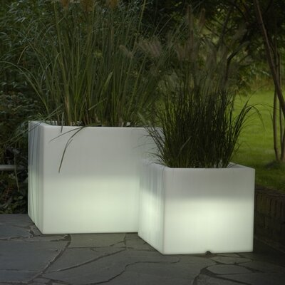Serralunga Cubotti Planter with Light