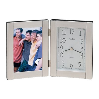 Forte I Picture Frame with Clock