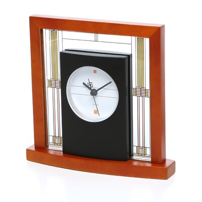 Frank Lloyd Wright Willits Table Mantel Clock