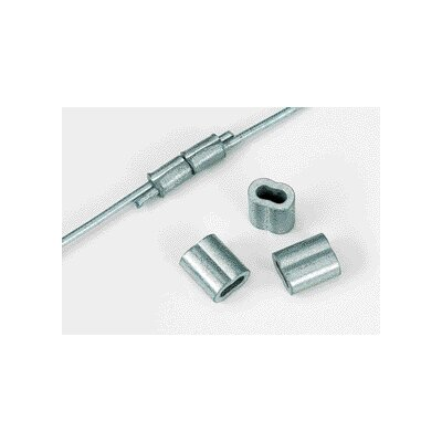 Dare Products Crimp Sleeves in Silver