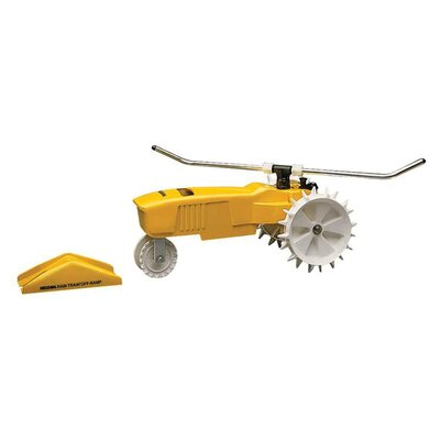 Robert Bosch Tool Raintrain Traveling Sprinkler in Yellow