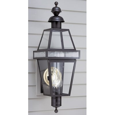 Beacon 1 Light Outdoor Wall Sconce Wayfair