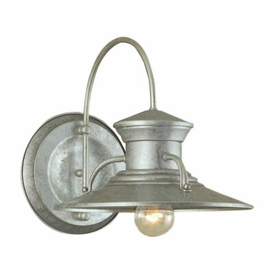 Wayfair External Wall Lights : Norwell Lighting Budapest 1 Light Outdoor Wall Sconce & Reviews Wayfair