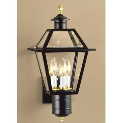 Norwell Lighting Lexington 3 Light Outdoor Wall Lantern