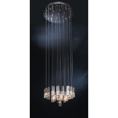 Diamante 25 Light Crafted Chandelier